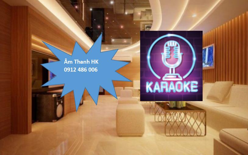 Mẫu phòng karaoke đẹp