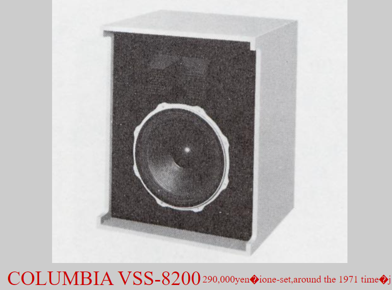Loa Columbia VSS-8200