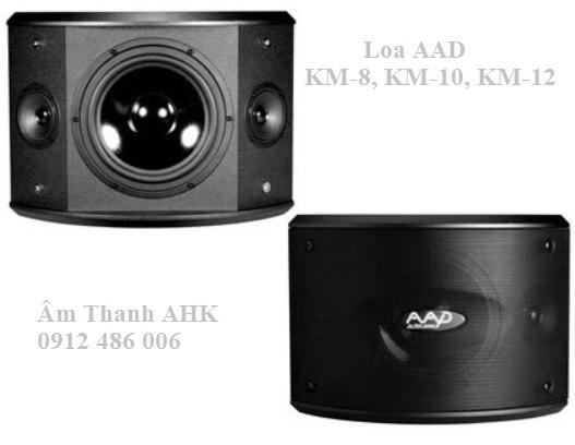 Loa karaoke AAD KM-8, KM-10, KM-12 new
