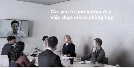Micro dành cho phòng họp