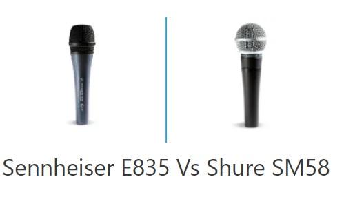 So sánh micro Sennheiser E835 với micro Shure SM58